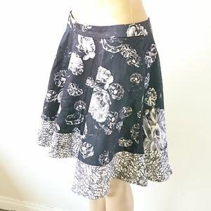 Prabal Gurung for Target Floral Skirt Size 6